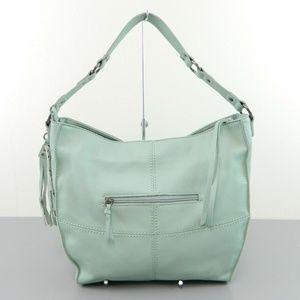 da7e3eaa541a The Sak Silverlake Hobo Bucket Bag Mint Green NWT